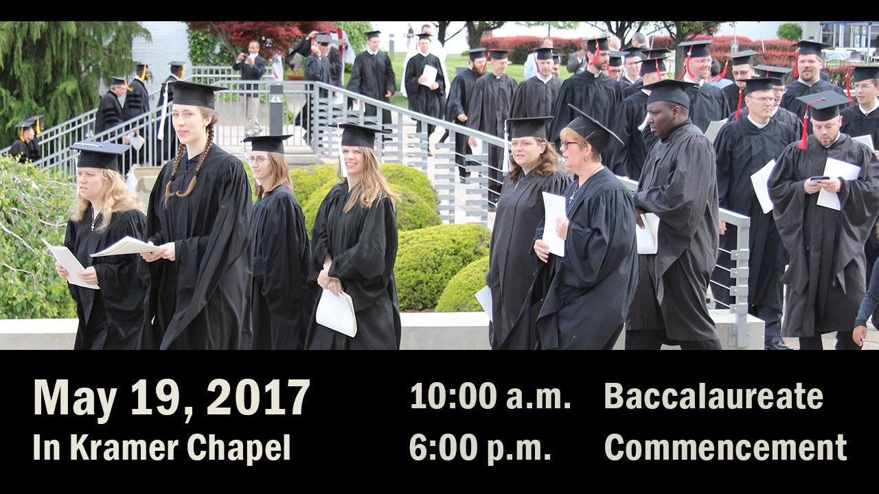 Commencement 2017 rotator