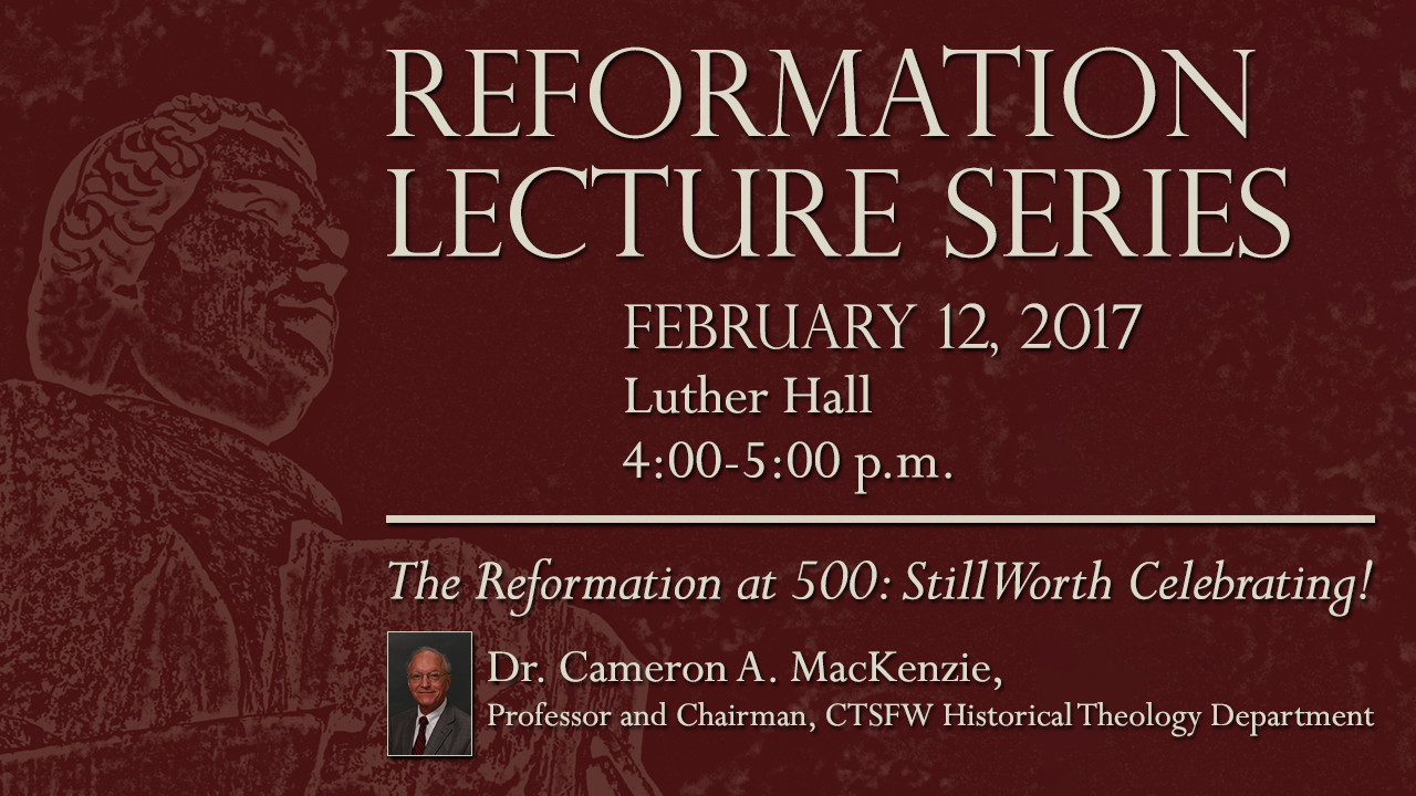 Reformation Lecture Series-MacKenzie
