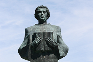 CTSFW Luther statue