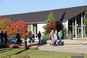 CTSFW campus in autumn