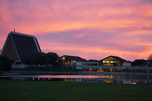 CTSFW campus at sunrise