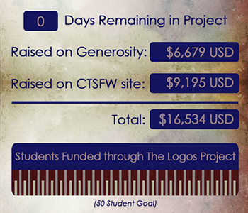 Logos Project fully funded