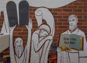 Te Deum mural