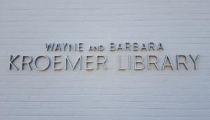 Wayne and Barbara Kroemer Library