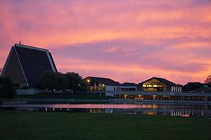 CTSFW campus at sunrise