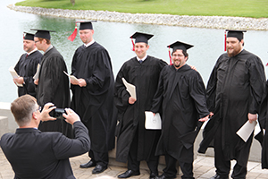 CTSFW 2016 graduates pose for pictures
