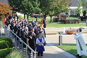 New students prepare for Opening Service at CTSFW