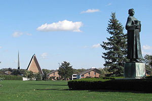The campus of Concordia Theological Seminary, Fort Wayne, Indiana