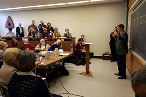One of the class sessions of the Good Shepherd Institute Conference last year.