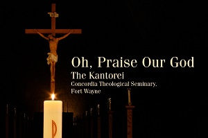 Cover of the 2019 Kantorei CD Oh, Praise Our God